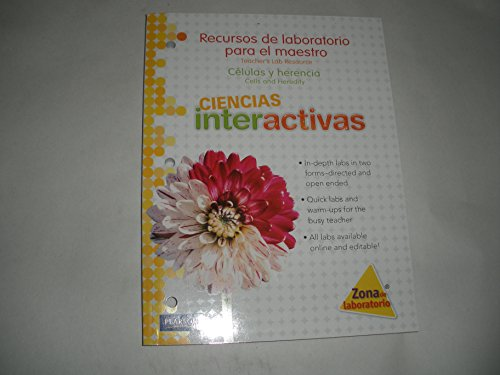 Lab Resource, Ciencias interactivas- Cells and Heredity. Volume 7, SPANISH EDITION