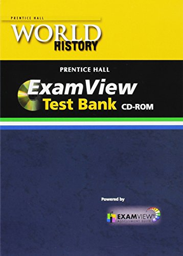 9780133707526: WORLD HISTORY 2011 COMPUTER TEST BANK WITH EXAMVIEW