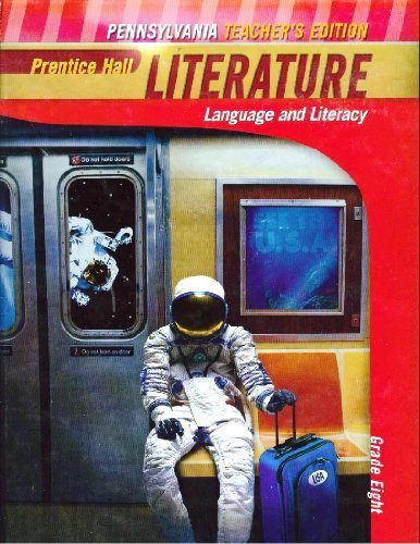 9780133712483: Literature Language and Literacy - Prentice Hall Maryland Teacher's Edition, Grade Eight
