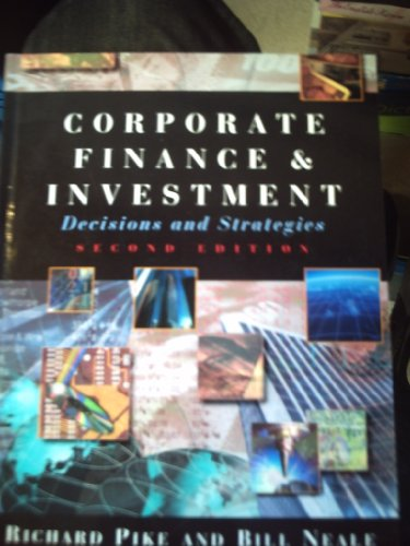 9780133712612: Corporate Finance and Investment