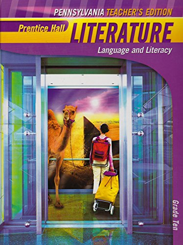9780133712933: Prentice Hall Literature Language and Literacy, Penguin Edition, Pennsylvania Grade 10