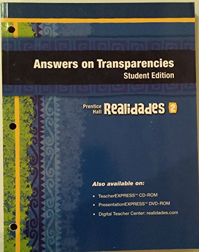 9780133720242: Prentice Hall Realidades 2011 Answers on Transparencies Level 2 - Student Edition