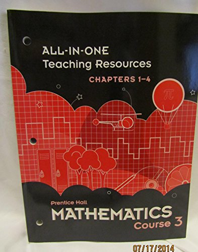 Prentice Hall Mathematics Course 3 All-in-One Teaching: Pearson