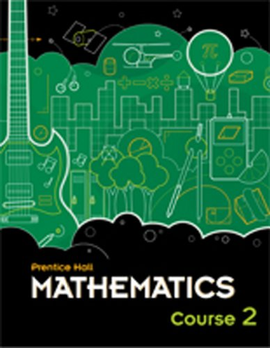 9780133721461: MIDDLE GRADES MATH 2010 ALL-IN-ONE STUDENT WORKBOOK COURSE 2 VERSION B