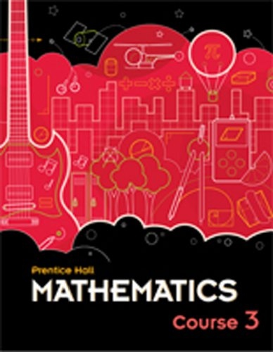 9780133721485: MIDDLE GRADES MATH 2010 ALL-IN-ONE STUDENT WORKBOOK COURSE 3 VERSION B