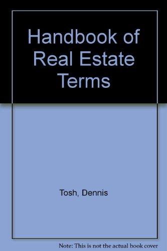9780133722369: Handbook of Real Estate Terms