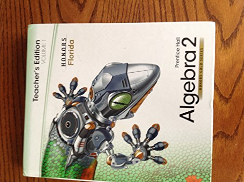 Prentice Hall Algebra 2, Volume 1, Honors
