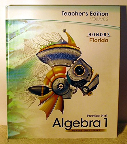 9780133723182: Prentice Hall Algebra 1, Vol. 2 (Honors Gold Series)