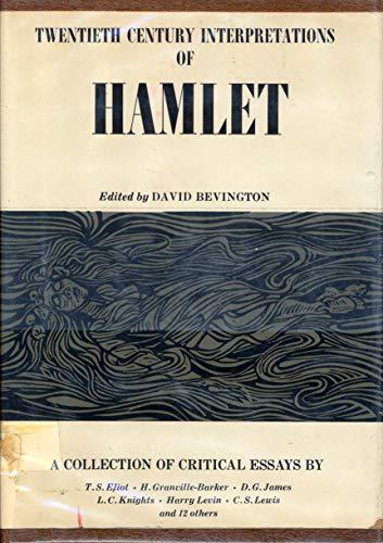 Critical essays on hamlet books