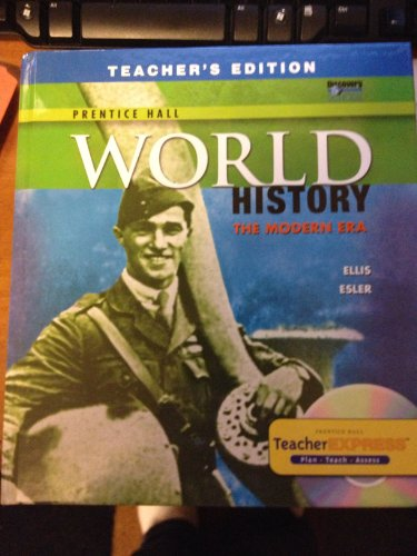 World History the Modern Era Teachers Edition: Ellis, Anthony Esler Elizabeth