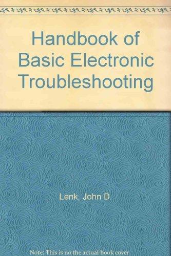 Handbook of Basic Electronic Troubleshooting