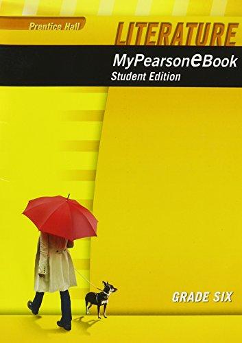 9780133724882: PRENTICE HALL LITERATURE MY E-BOOK STUDENT EDITION CD-ROM GRADE 6