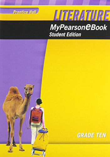 9780133724936: PRENTICE HALL LITERATURE MY E-BOOK STUDENT EDITION CD-ROM GRADE 10