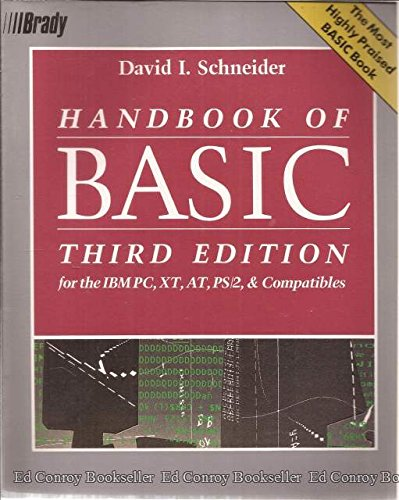9780133725827: Handbook of Basic: For the IBM Pc, Xt, At, Ps/2, and Compatibles