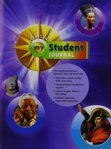9780133727012: My World History Student Journal