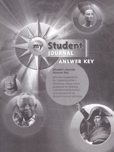 9780133727029: Pearson My World History, Student Journal, Answer Key