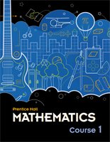 9780133727371: Prentice Hall Mathematics Course 1 - Illinois Edition