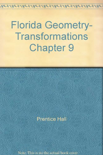 9780133728811: Florida Geometry- Transformations Chapter 9