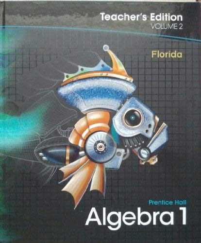 9780133730791: Prentice Hall Algebra 1, Vol. 2