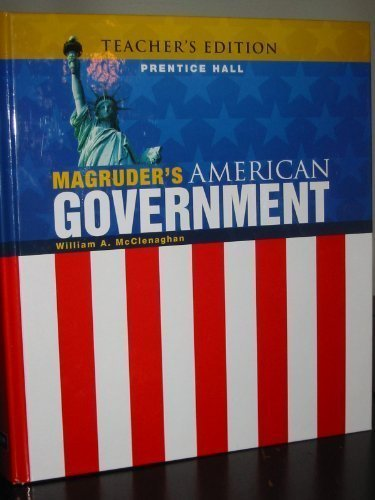 9780133731736: MAGRUDER'S AMERICAN GOVERNMENT, Teacher's Edition