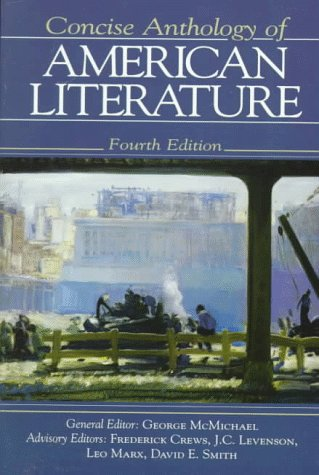 9780133732917: Concise Anthology of American Literature