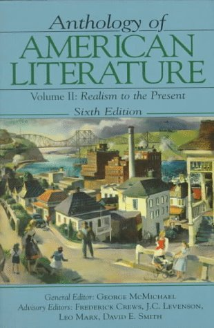 9780133734577: Anthology of American Literature Vol. II: Realism to the Present