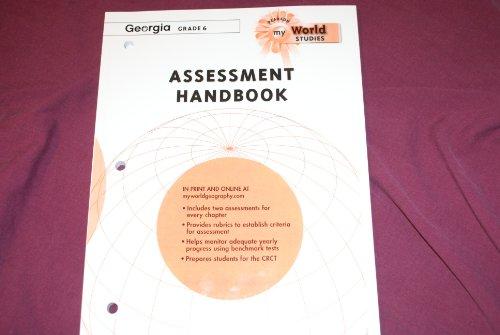 9780133737615: My World Assessment Handbook World Studies Georgia Grade 6