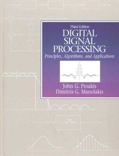 9780133737622: Digital Signal Processing: Principles, Algorithms and Applications