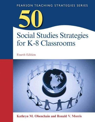 9780133740967: 50 Social Studies Strategies for K-8 Classrooms