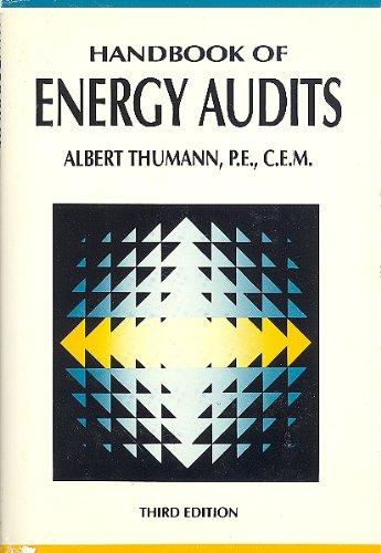 9780133741094: Handbook of Energy Audits