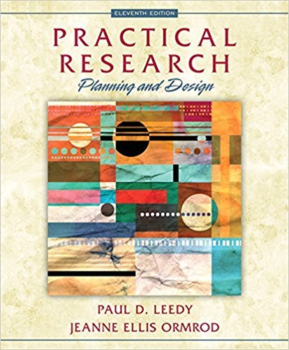 9780133741322: Practical Research: Planning and Design (11th Edition)