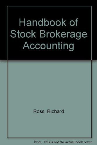 9780133741827: Handbook of Stock Brokerage Accounting