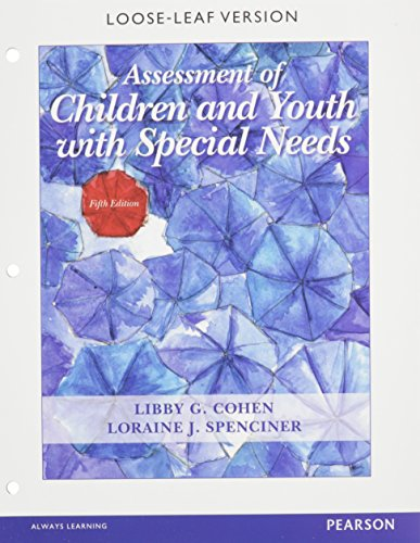 9780133743845: Assessment of Children and Youth with Special Needs, Pearson eText - Access Card