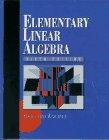 9780133747294: Elementary Linear Algebra