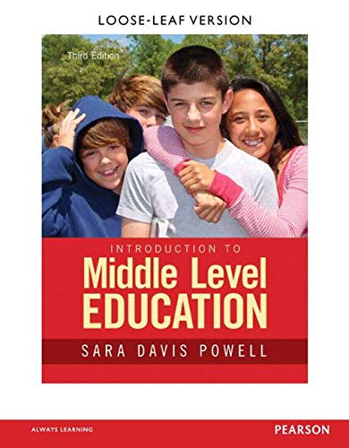9780133752434: Introduction to Middle Level Education
