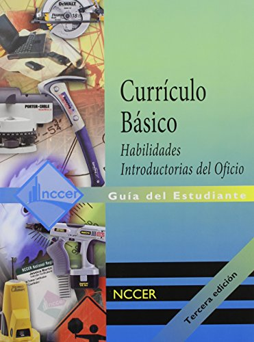 9780133752687: Core Curriculum Introductory Craft Skills Trainee Guide in Spanish (International Version)
