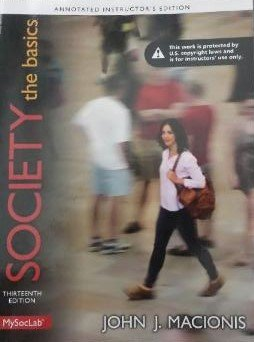 9780133752762: Society The Basics:ANNOTATED INSTRUCTOR'S EDITION