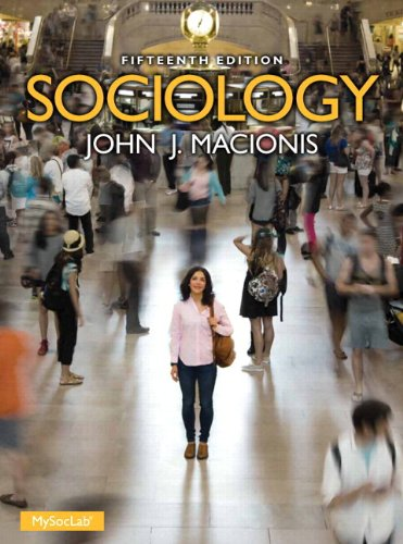 9780133753271: Sociology, Books a la Carte Edition (15th Edition)