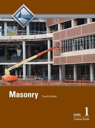 9780133754025: Masonry Level 1 Trainee Guide, Hardcover (4th Edition)