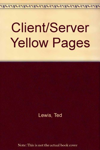 9780133755022: Client/Server Yellow Pages