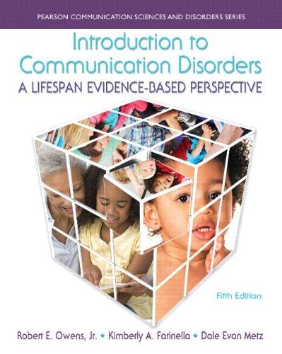9780133756692: Introduction to Communication Disorders: A Lifespan Evidence-Based Perspective, Enhanced Pearson eText -- Access Card (5th Edition) (Allyn & Beacon Communication Sciences and Disorders)