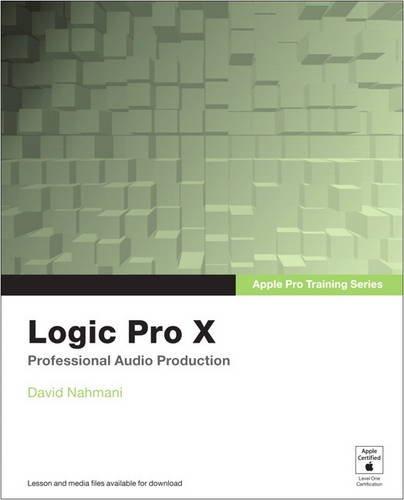9780133756906: Apple Pro Training Series: Logic Pro X, Access Code Card