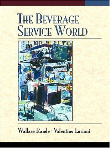 9780133759242: The Beverage Service World