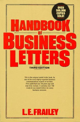 9780133760057: Handbook of Business Letters (Business Classics (Hardcover Prentice Hall))