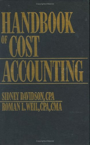 9780133760392: Handbook of Cost Accounting