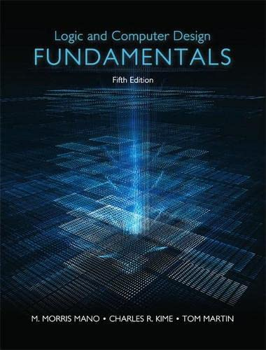 9780133760637: Logic and Computer Design Fundamentals