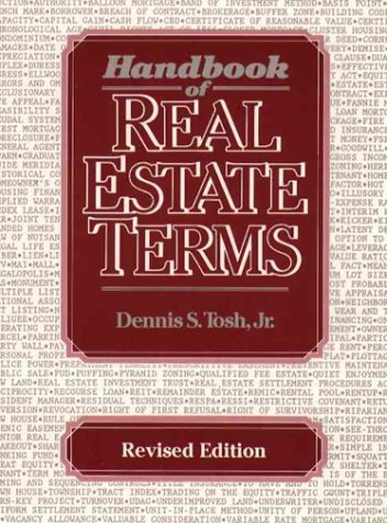 9780133760705: Handbook of Real Estate Terms Revised