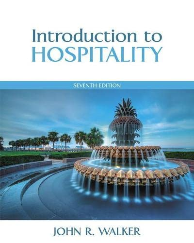 9780133762761: Introduction to Hospitality (7th Edition)
