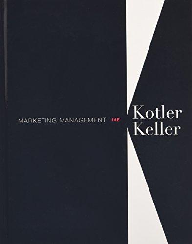 Marketing Management Plus 2014 MyMarketingLab with Pearson: Philip T. Kotler;