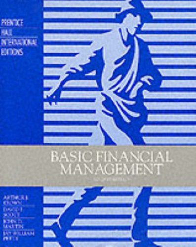 9780133765755: Basic Financial Management (Prentice Hall international editions)